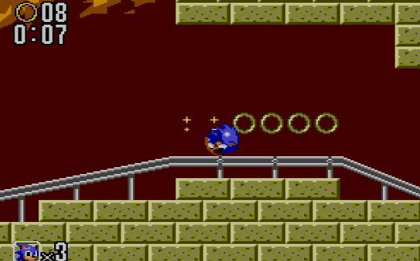 La primera sorpresa del juego, empezamos en una mina (Master System)