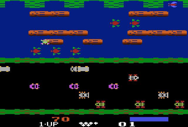 Frogger, en la primera conversion de la emrpesa
