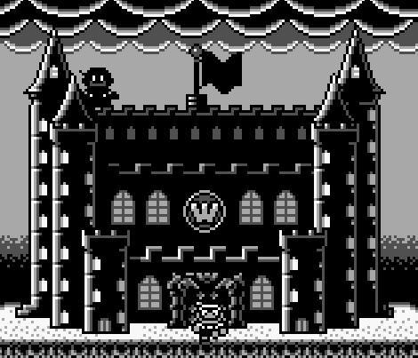 Wario se esconde en su castillo