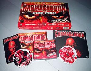 El lote entero por reservar el Carmageddon Max Pack.