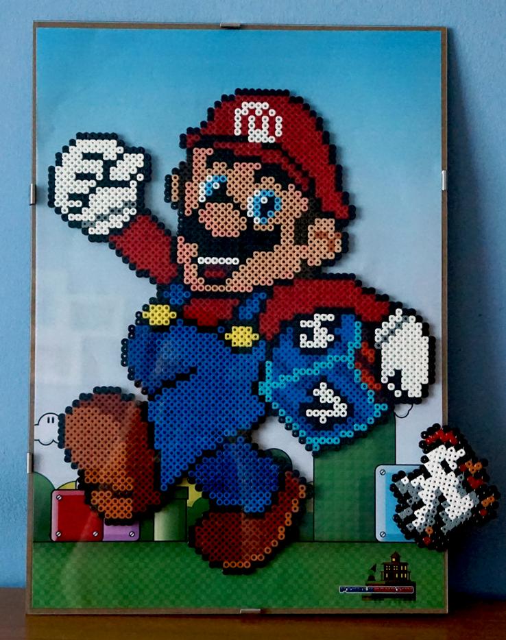 Pixel-Mansions-Mario