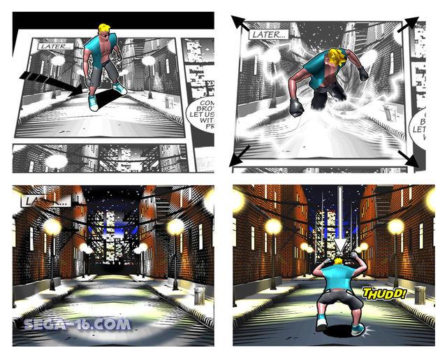 Comix Zone Sega Saturn 01