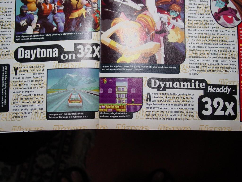 Sega Power Dynamite 32x
