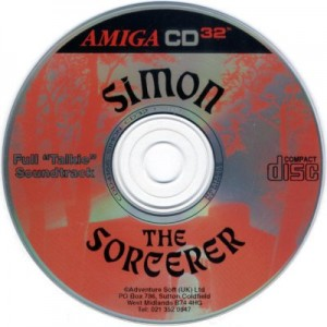 Simon the Sorcerer - CD Amiga