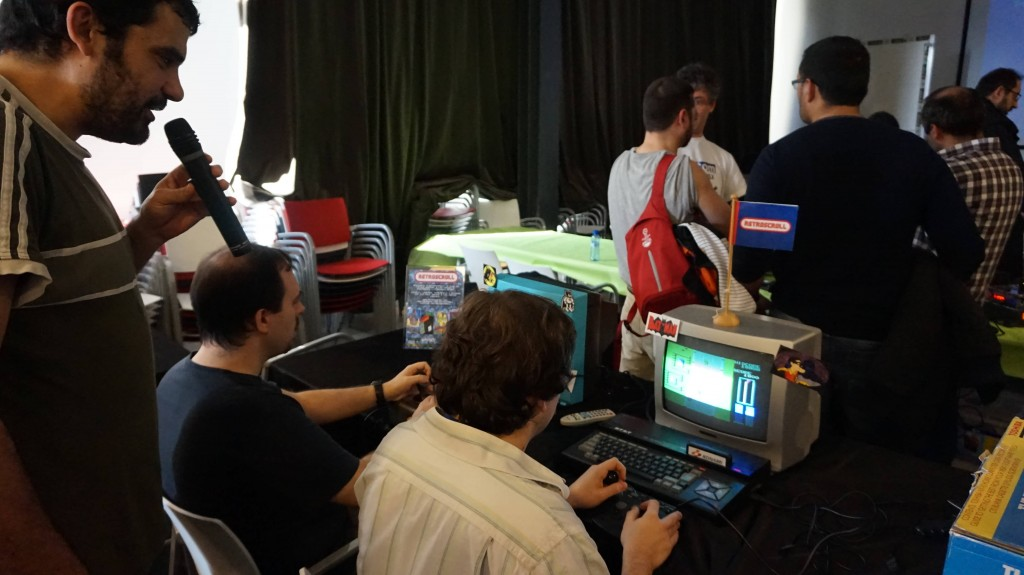 Luca en el torneo de Road Fighter