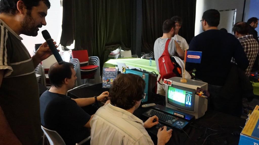 Luca en el torneo de Road Fighter