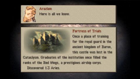 Información de la misión.