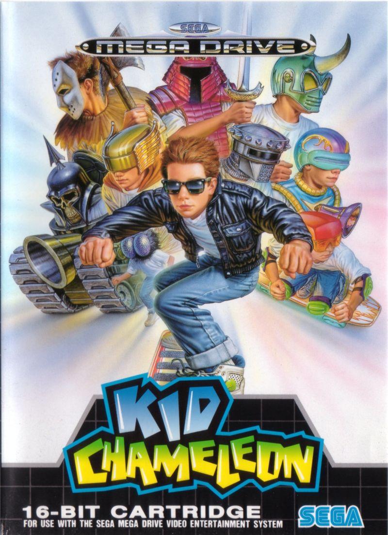 Kid Chameleon Portada