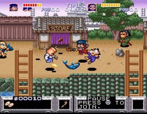 The Legend of the Mystical Ninja - Town