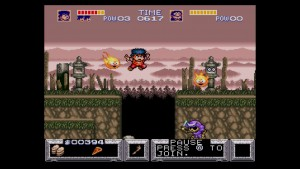The Legend of the Mystical Ninja - Platforming
