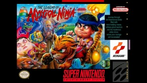The Legend of the Mystical Ninja - Cover