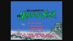 The Legend of the Mystical Ninja - Title Screen