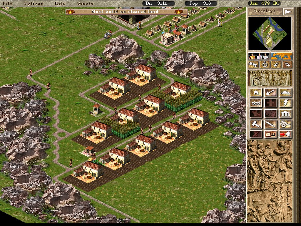 Caesar III granjas