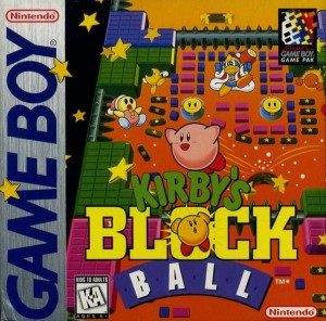 Kirby's Block Ball - Caratula