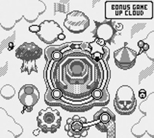 Kirby's Block Ball - Mapa