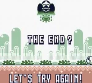 Kirby's Block Ball - Try again